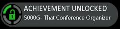 Achievement4-ThatConference-Organizer