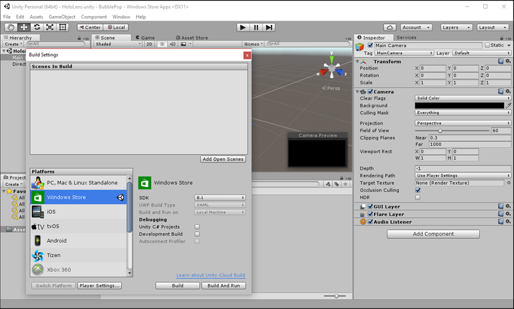 unity how to build a exit button